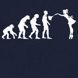 EVOLUTION HOUSEWIFE! - Herre T-shirt med V-udskæring