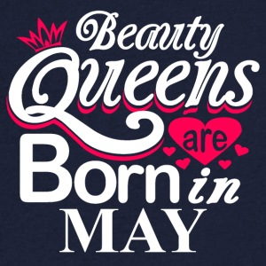 Beauty Queens Born in May - Men's V-Neck T-Shirt