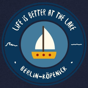 LIFE IS BETTER AT THE LAKE | Koepenick - Men's V-Neck T-Shirt