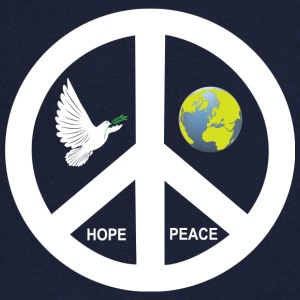 Peace - Men's V-Neck T-Shirt