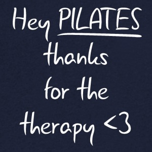 Pilates Therapy - Men's V-Neck T-Shirt