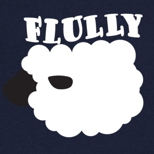 Sheep / farm: Flully - Men's V-Neck T-Shirt