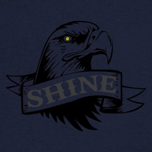 Blackshine - Men's V-Neck T-Shirt