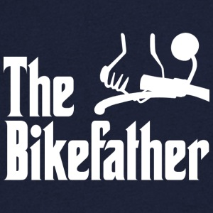 The Bikefather - Men's V-Neck T-Shirt