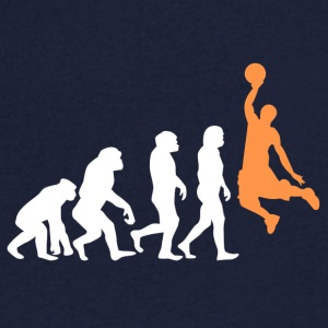 ++ Basketball Slam Dunk Evolution ++ - Men's V-Neck T-Shirt
