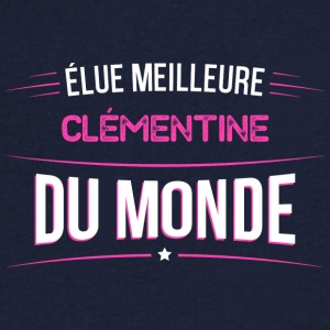 Clementine t shirt drole pour Clementine - T-shirt Homme col V