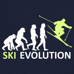 ++ ++ Ski Evolution - T-skjorte med V-utsnitt for menn