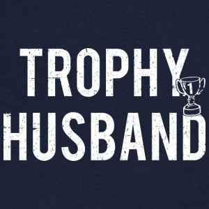 Trophy Husband - T-shirt med v-ringning herr