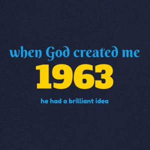 God idea 1963 - Men's V-Neck T-Shirt