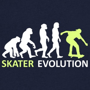 ++ ++ Skater Evolution - Men's V-Neck T-Shirt