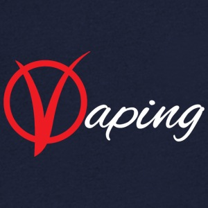 vaping V - Men's V-Neck T-Shirt