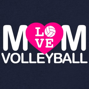 amour maman volleyball - T-shirt Homme col V