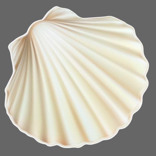 Shell - Bio - Mannen bio T-shirt met V-hals van Stanley & Stella