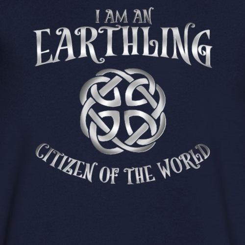 EARTHLING T-shirt SILVER design Earthlings Tshirt