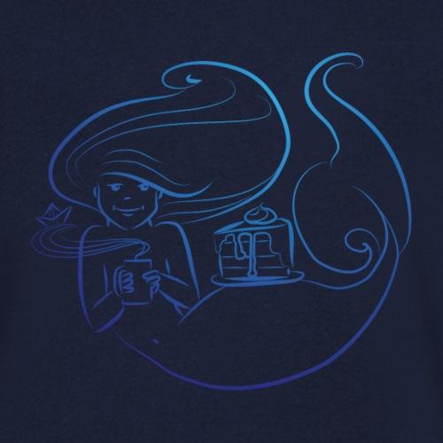 süße Pause - Männer Bio-T-Shirt mit V-Ausschnitt von Stanley & Stella