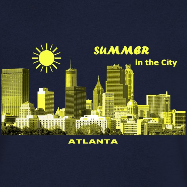 Summer in the City Atlanta Georgia USA