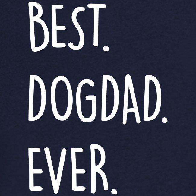 Vorschau: best dogdad ever - Männer Bio-T-Shirt mit V-Ausschnitt von Stanley & Stella
