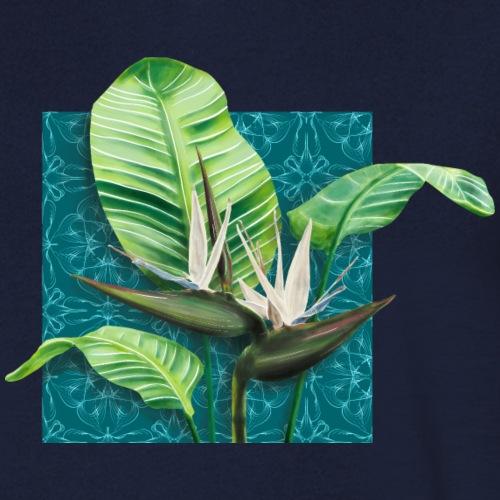 Boho Paradies Strelitzia nicolai Baum-Strelitzie - Männer Bio-T-Shirt mit V-Ausschnitt von Stanley & Stella