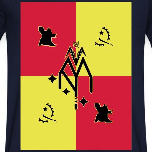 Angola - Männer Bio-T-Shirt mit V-Ausschnitt von Stanley & Stella