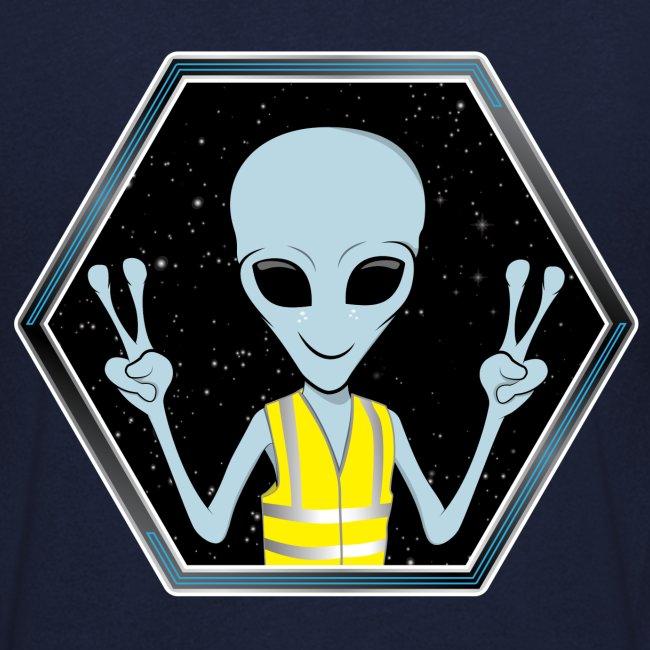 "Extraterrestre ""Gilet jaune"""