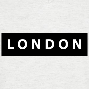 london_silhouette - T-shirt Homme col V