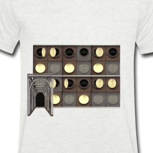 Carlsberg Architectural Collage 3 - Men's V-Neck T-Shirt
