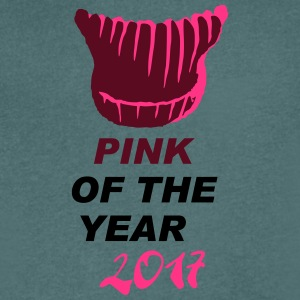 pink of the year - pussyhat - Men's V-Neck T-Shirt