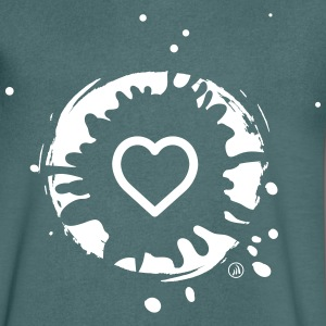 Heart and Mud - Men's V-Neck T-Shirt