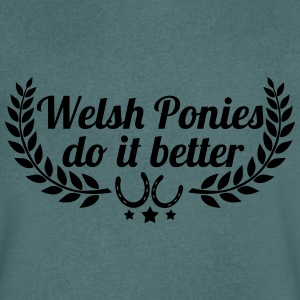 Welsh Ponies - Men's V-Neck T-Shirt