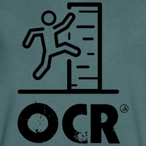 OCR - obstacle course - Men's V-Neck T-Shirt