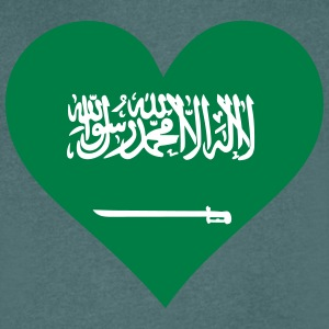 A Heart For Saudi Arabia - Men's V-Neck T-Shirt