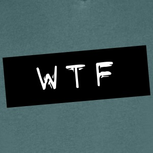 WTF - Men's V-Neck T-Shirt
