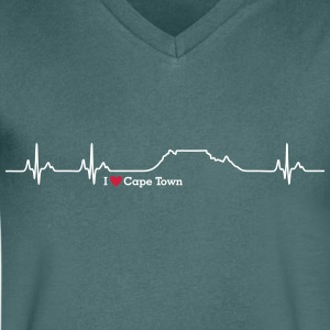 I love Cape Town (Table Mountain) - Men's V-Neck T-Shirt