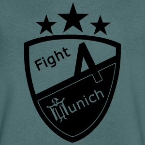 Fight 4 Munich - Logo - Men's V-Neck T-Shirt