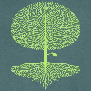 Laubbaum Crown Wood Oak Beech Natural lime tree branches - Men's V-Neck T-Shirt