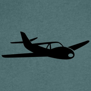 Small sports aircraft - Men's V-Neck T-Shirt