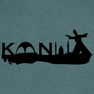 Konya silhouette - Men's V-Neck T-Shirt