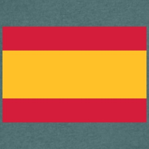 National Flag Of Spain - Men's V-Neck T-Shirt