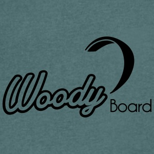 Logo Woody Board nb vectoriel - T-shirt Homme col V