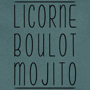 Licorne boulot mojito - Men's V-Neck T-Shirt