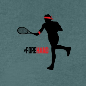 #Forehand Tennis - T-shirt Homme col V
