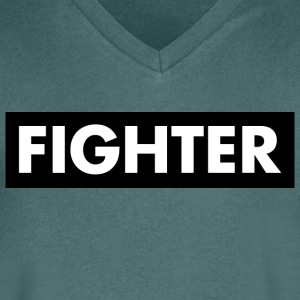 Fighter - Men's V-Neck T-Shirt