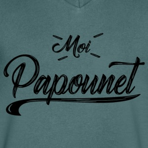 MOI PAPOUNET N01 - T-shirt Homme col V