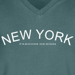 NEW YORK FASHION DESIGN - Men's V-Neck T-Shirt