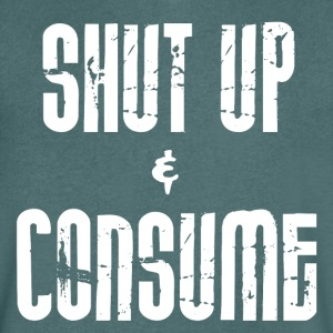 Shut Up and CONSOMMER - T-shirt Homme col V