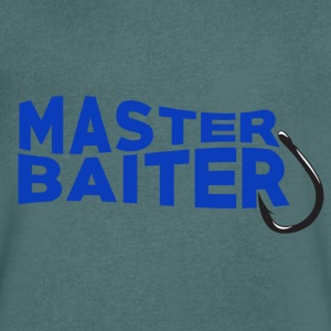 Master Baiter - Fishing - Men's V-Neck T-Shirt