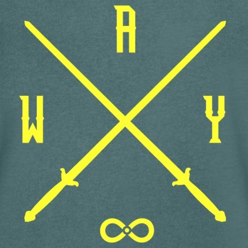 Immortal Way Tai Chi Sword Yellow - Men's Organic V-Neck T-Shirt by Stanley & Stella