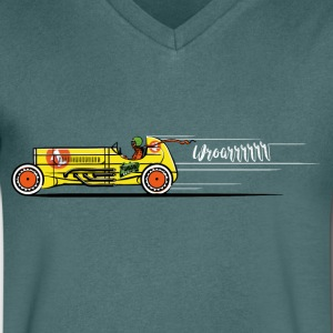 The Race - Men's V-Neck T-Shirt