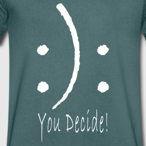:): You Decide! - Men's V-Neck T-Shirt