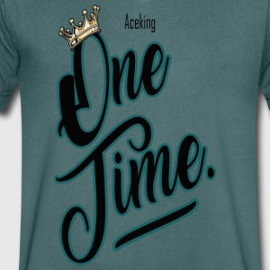 One time - T-shirt Homme col V